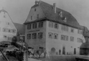 "Die ""Taube"" um 1900"